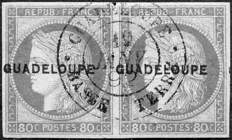 timbres guadeloupe
